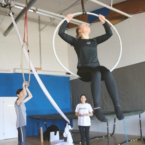 Aerial Hoop!
