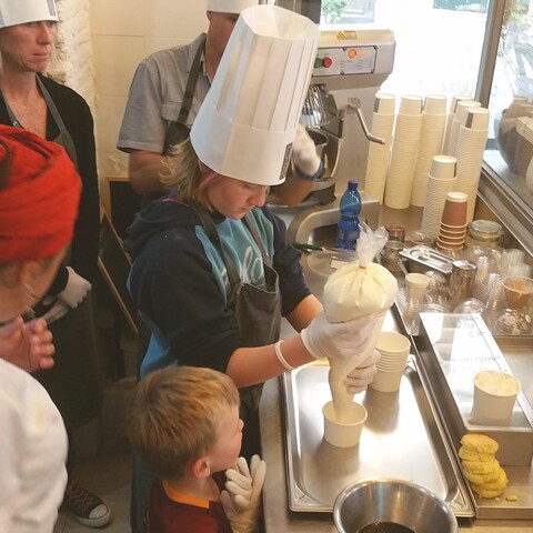 Master the art of Tiramisù and gelato