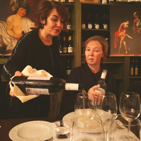 CARAVAGGIO: WINE AND ART EXPERIENCE IN ROME
