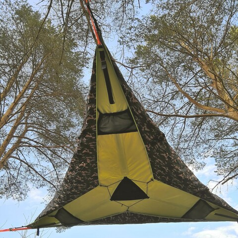 Tentsile accommodation - experience night for 3 person