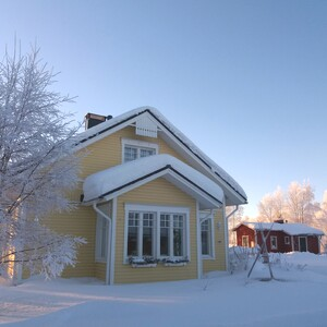 Winter Fun Day in Countryside, Rovaniemi