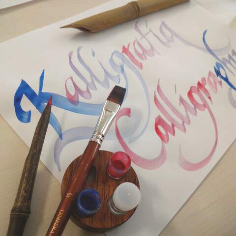Calligraphy relaxation