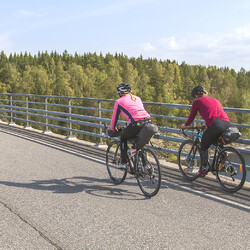 Saimaa Archipelago Route Cycling with One Night Tactic