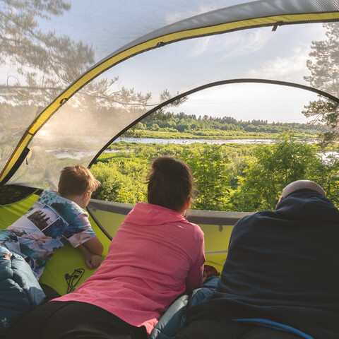Tentsile accommodation - experience night for 1 person