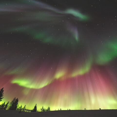Aurora photography in/around Ivalo