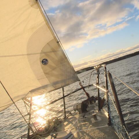Sailing at the Archipelago (Sail Training - Turku)