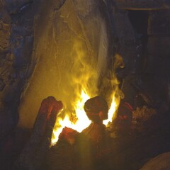 Let´s start a fire - in traditional Finnish sauna!