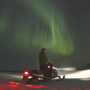 Snow mobile safari, Rovaniemi