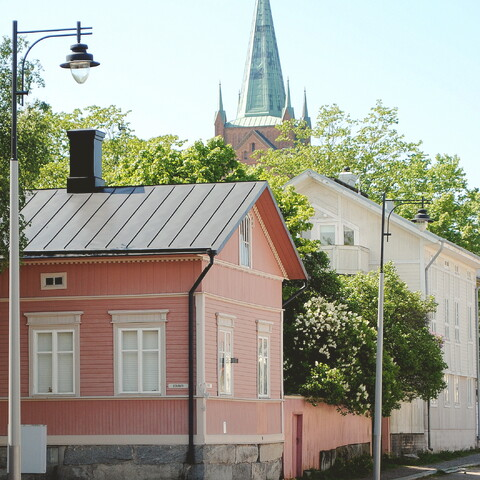 Guided walking tour in Uusikaupunki