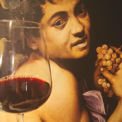 Art & wine: Livestream Caravaggio's Rome experience