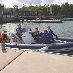 Taxiboat (RIB-boat trips)  to Archipelago of Selkämeri, Rauma
