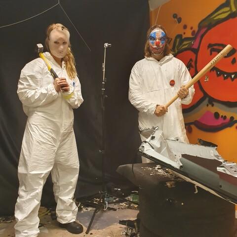 Rage Room - Come to us, Break stuff, leave happy