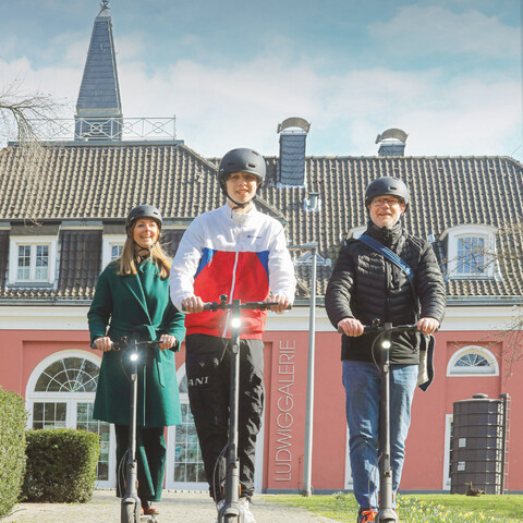 E-Scooter Tour: Neue Mitte Plus
