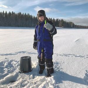 Relaxing Rovaniemi Ice Fishing Experience with Ben, Rovaniemi