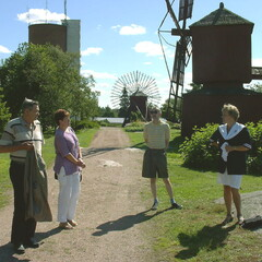 Guided walking tour in Uusikaupunki in english