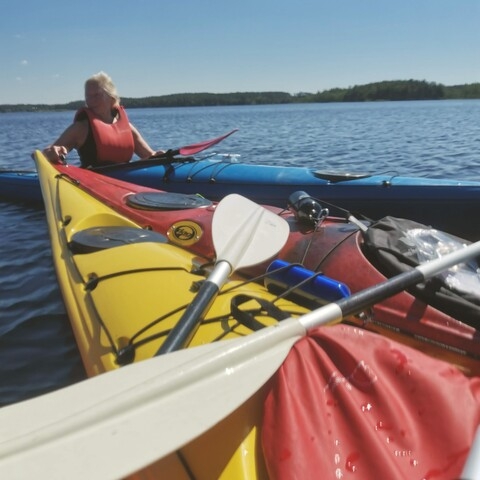 Private paddling course or kayaking tour