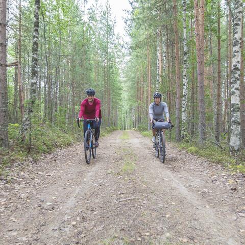 Guided Gravel Bike Tour & Saimaa Cruise