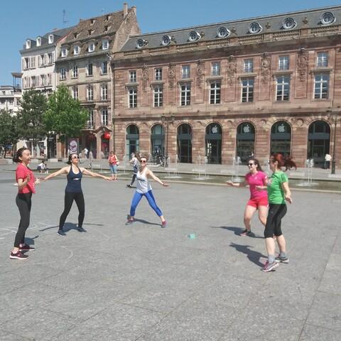 Visite sportive de Strasbourg