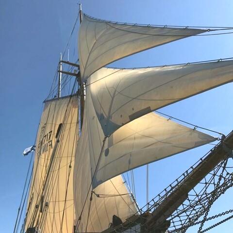 Galeas Ihana welcomes you aboard!