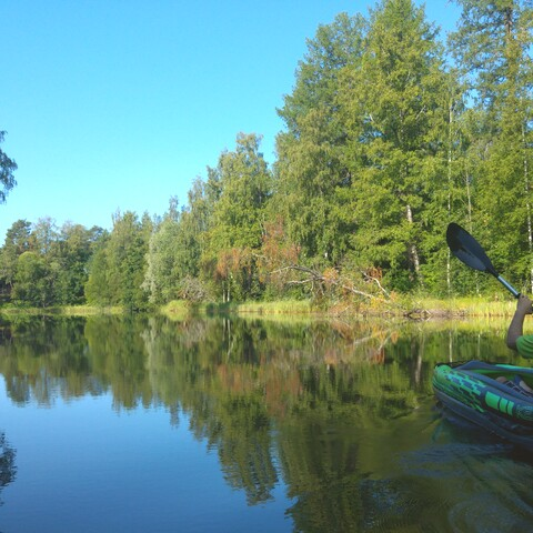Paddling Tours in Sysmä