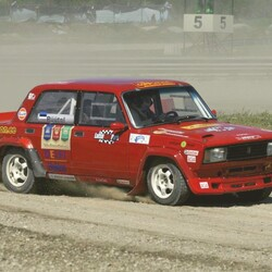 Co drive with Lada VFTS rally car!