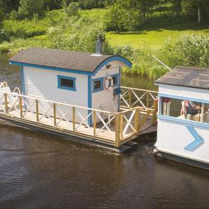 Summer river cruise on the Siikajoki, Kestilä