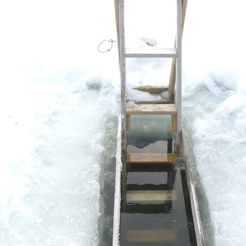 Sauna and ice hole experience
