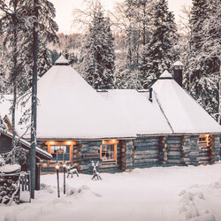 Log Sauna and Finnish Dinner