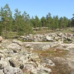 Silent paths of Sammallahdenmäki
