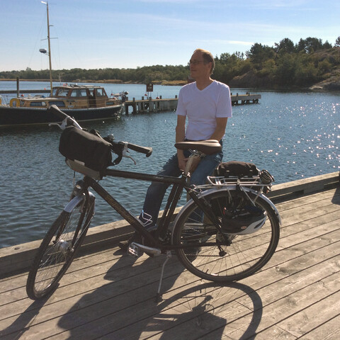 Exploring the Archipelago by bike