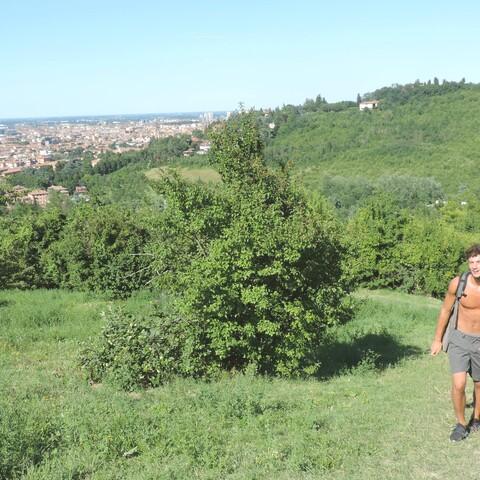 Trekking on Bologna's hills