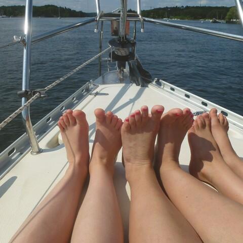 Sailing in Helsinki