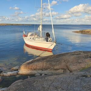 Sailing in Archipelago of Turku, Naantali