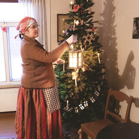 Guided Christmas tour at the Kempele local museum