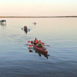 Kayaking ABC on Säräisniemi, Lake Oulujärvi