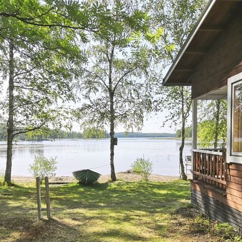 The authentic Finnish cottage day at Lake Saimaa