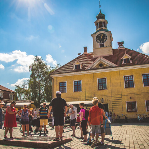 Guided Tour in Old Rauma