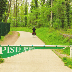 Cycling the fortress trail