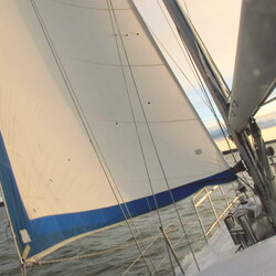 Winter Sailing with SY ANNONA