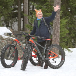 Private FatBike Excursion to Northern Nuuksio Park