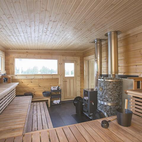 Yleinen saunavuoro Saunalautalla