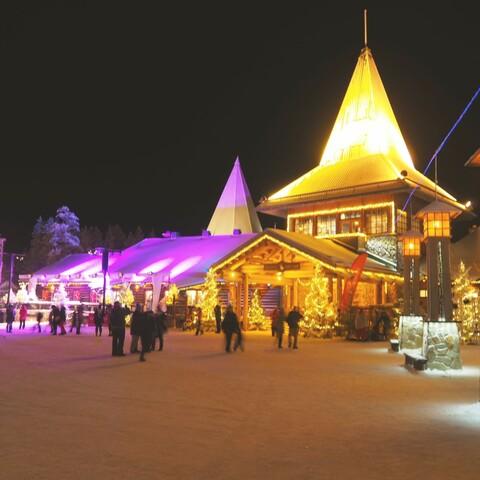 Visit Santa Claus Village