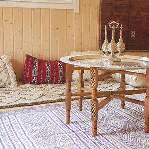 Exhibition of authentic Moroccan Berber rugs by BerberArt, Vaala
