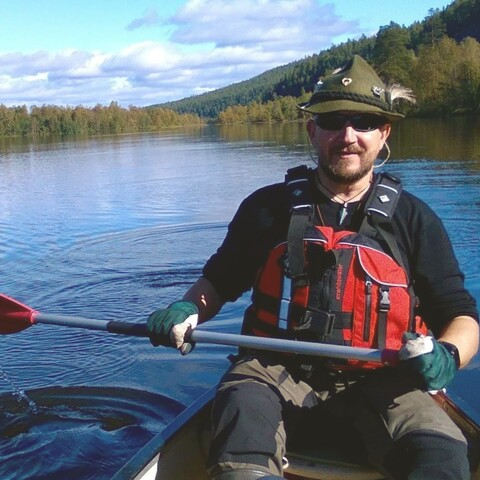 Canoeing trip to Southern Konnevesi National Park.