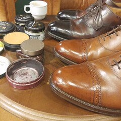 Shoeshining With Whiskey