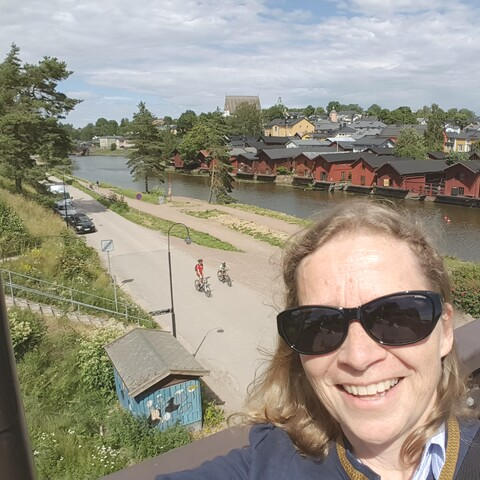 Old Porvoo by walking