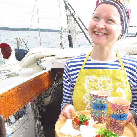 Sailing at the Archipelago (Sail Training - Turku)