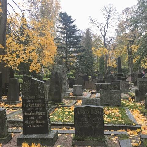 Halloween at Hietaniemi Cemetery
