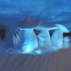 Snow Sculpting Workshop, Rovaniemi
