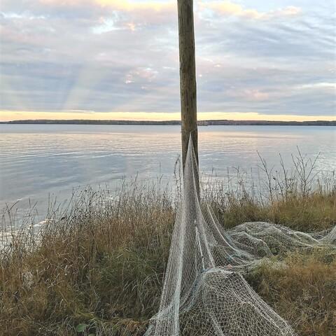 Volleyball by the lake Pyhäjärvi